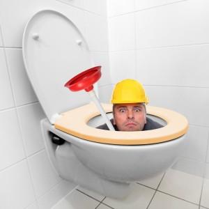WC verstopt (Regio Amsterdam)